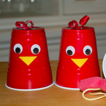 25 Awesomely Red Crafts for Preschoolers