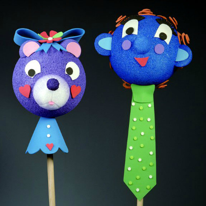 fantasy stick puppets