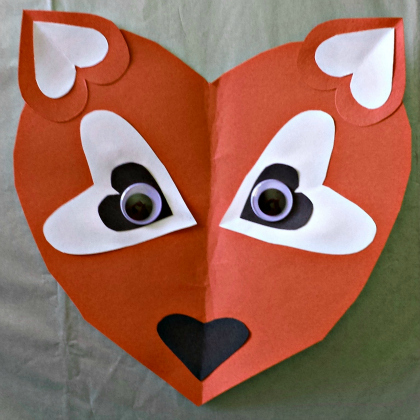 heart fox