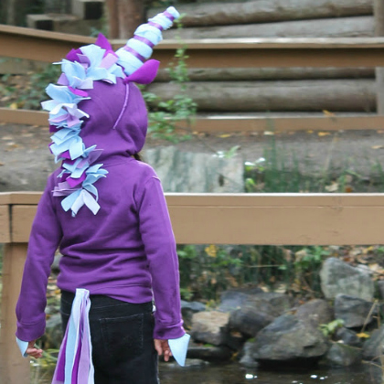 kid unicorn costume