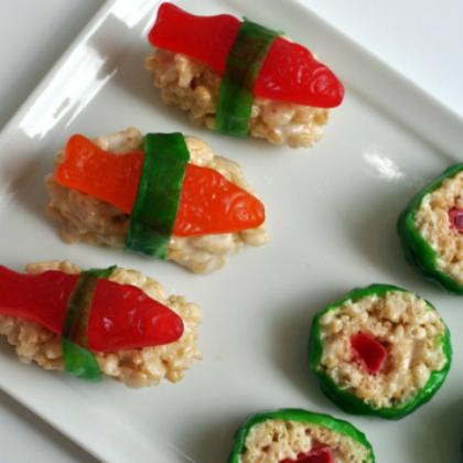 krispie sushi