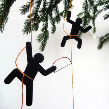 ninja ornaments