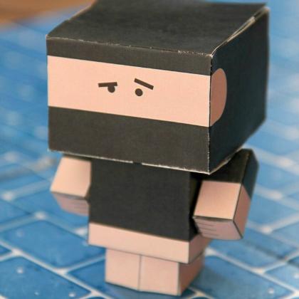 paper cute ninja