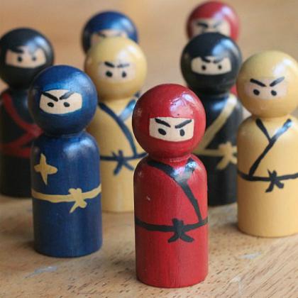 peg ninjas