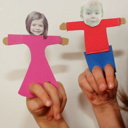 personalized finger puppets
