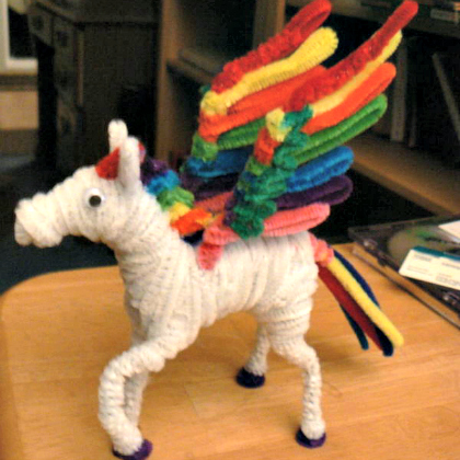 pipe cleaner pegasus