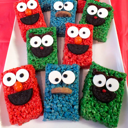 sesame street treats