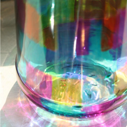 stained glass tumbler