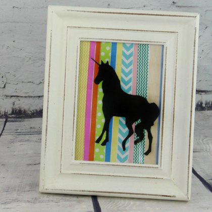 washi tape unicorn picture