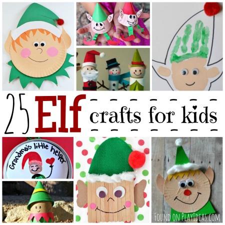 25 Elf Crafts Blog Image