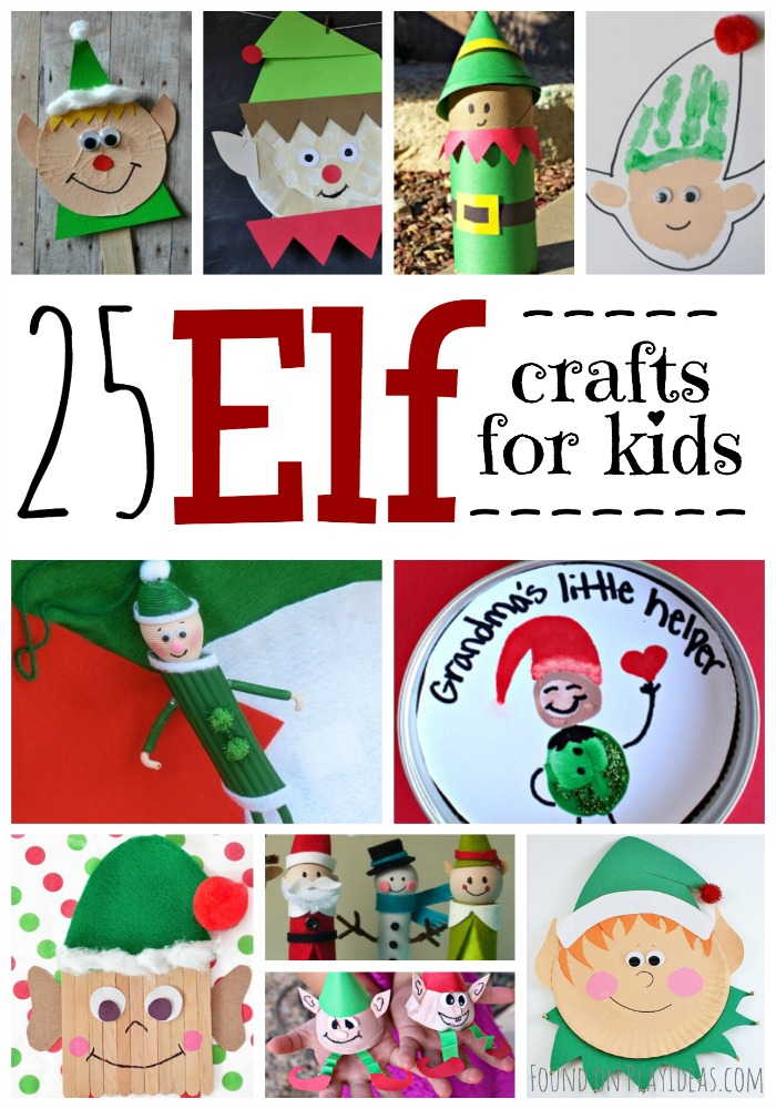 25 Elf Crafts Pinterest Image