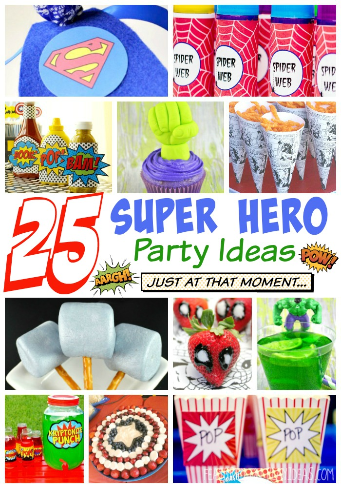 25 Super Hero Party Ideas