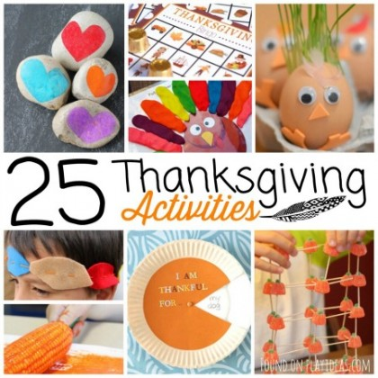25 Thanksgiving Activities For Kids