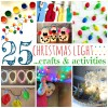 25 Christmas Light Crafts And Activities For Kids