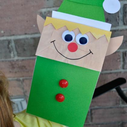 Paper Bag Elf