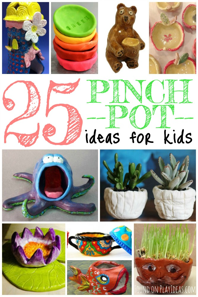 pinch pot ideas for kids