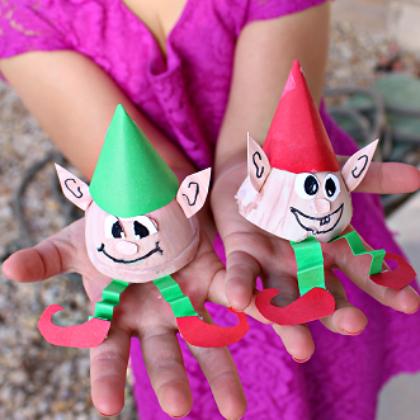 egg carton elves