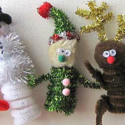 finger puppet elf