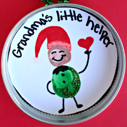 fingerprint ornament elf