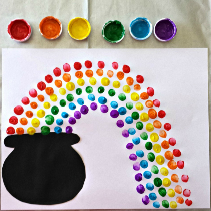 fingerprint rainbow