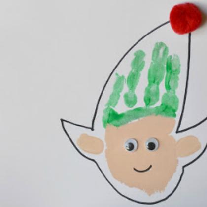 handprint elf
