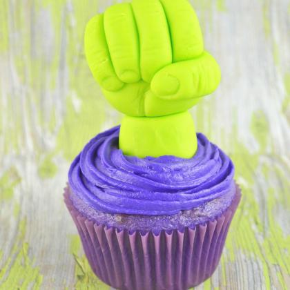 hulk-cupcakes