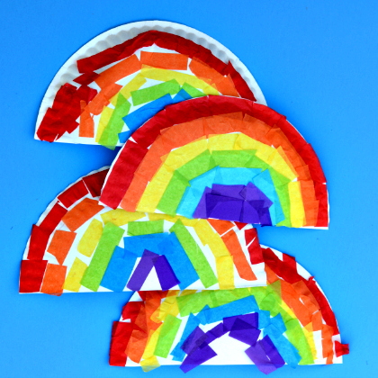 paper plate rainbow craft 25 beautiful rainbow crafts for 5113