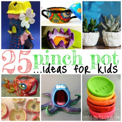 25 Pinch Pot Ideas For Kids