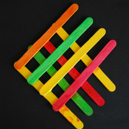 popsicle stick fish