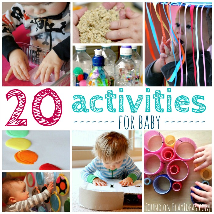 20 Activities for Baby Blog Image
