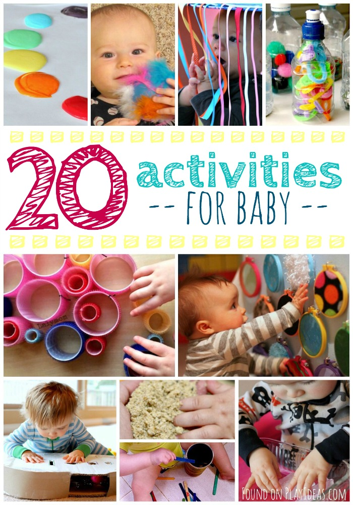 20 Activities for Baby Pinnable