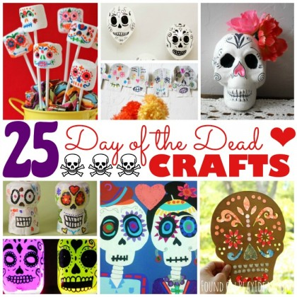 25 Day of the Dead Crafts for Kids