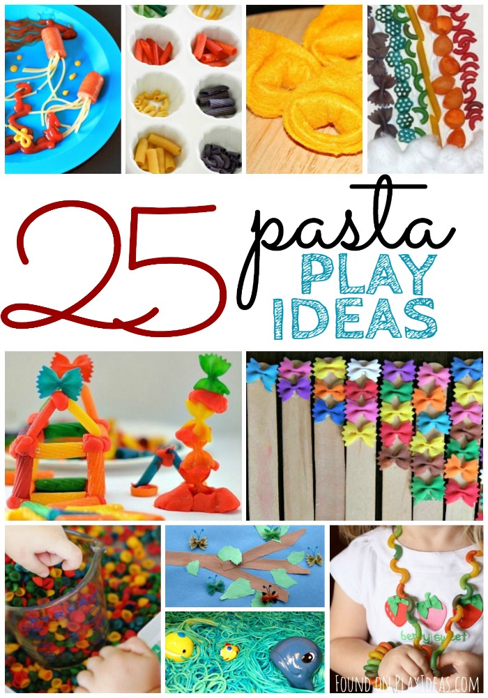 25 Pasta Play Ideas Pinnable