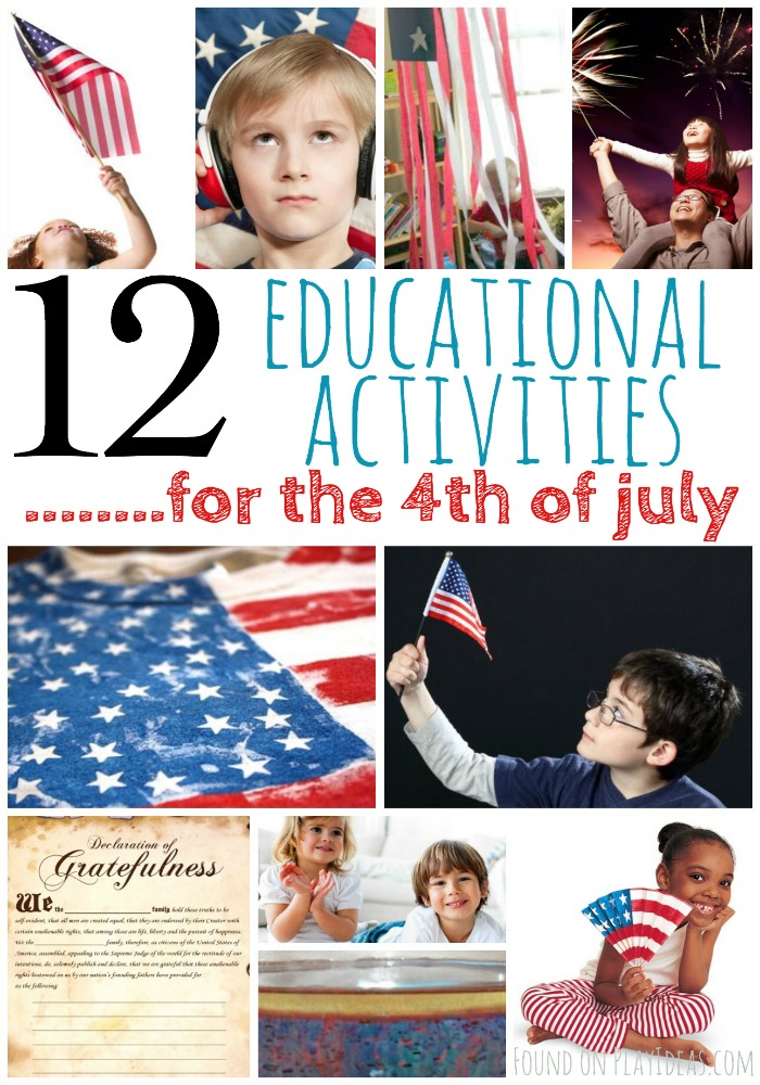 4th of July Activities Pinnable