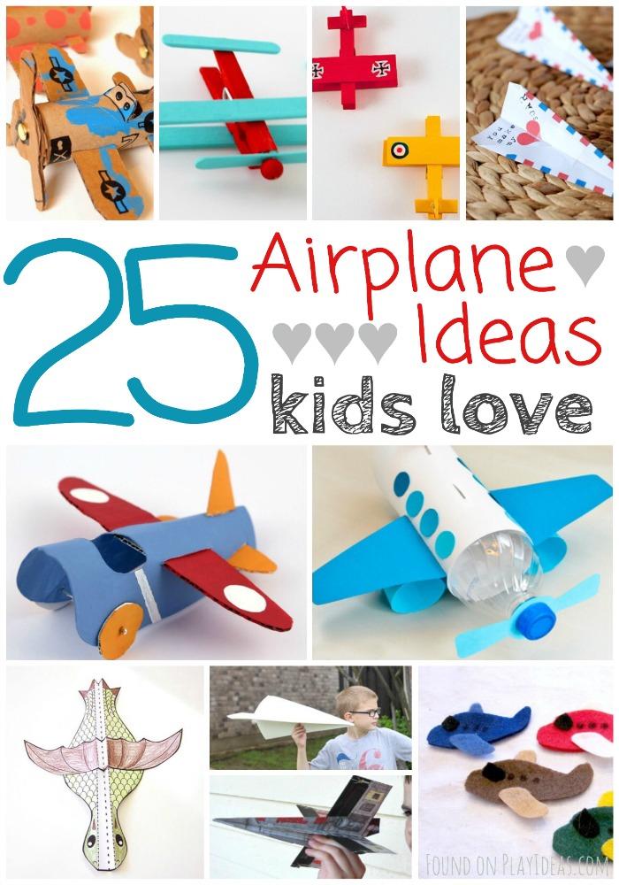 Airplane Ideas Pinnable