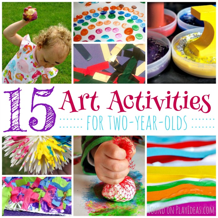 Art Ideas for Two Year Olds Blog Image