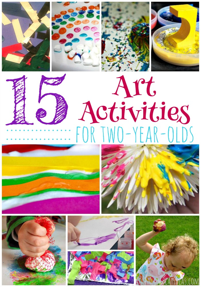 craft ideas for 2 year olds 15 easy activities for two year olds page 15 7535