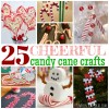25 Cheerful Candy Cane Crafts For Kids