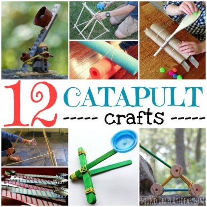 12 Catapult Crafts (Your Kids Will Flip)