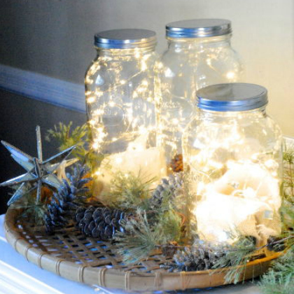 Christmas Fairy Jars