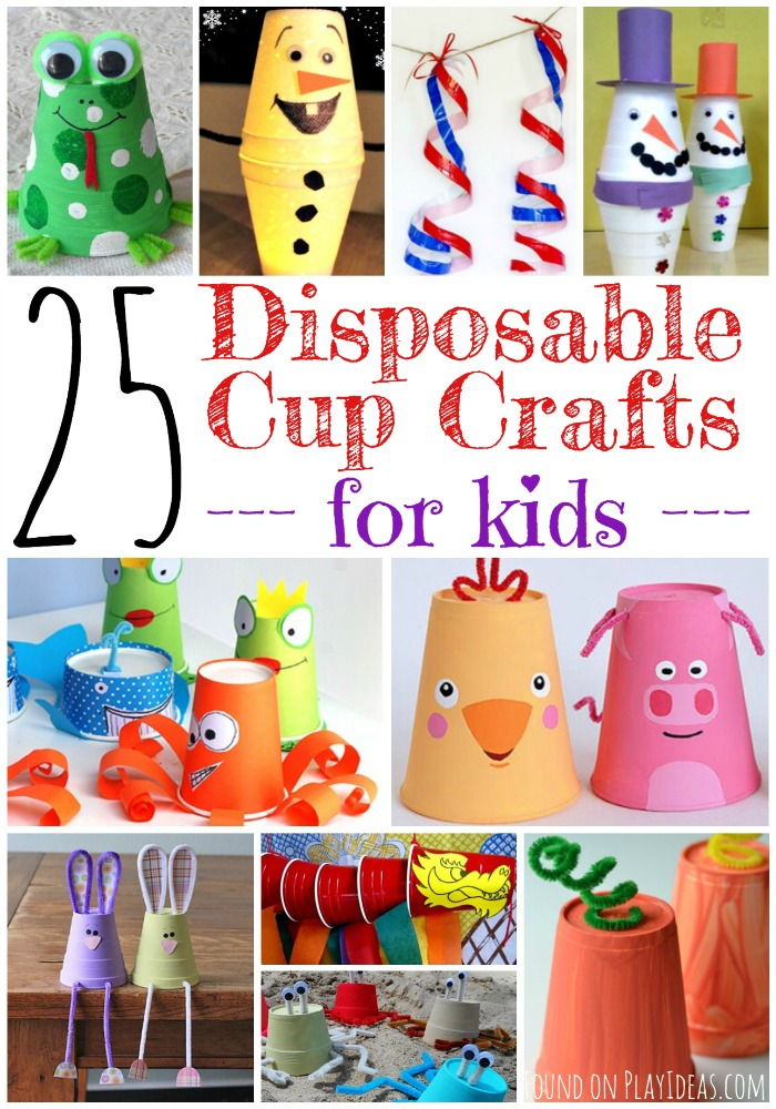 Disposable Cup Crafts Pinnable