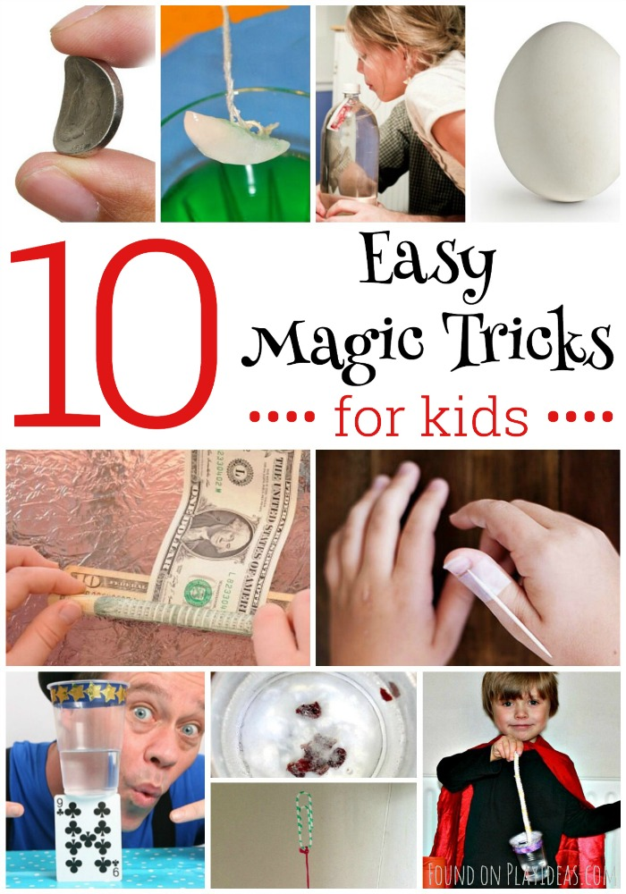 Easy Magic Tricks Pinnable