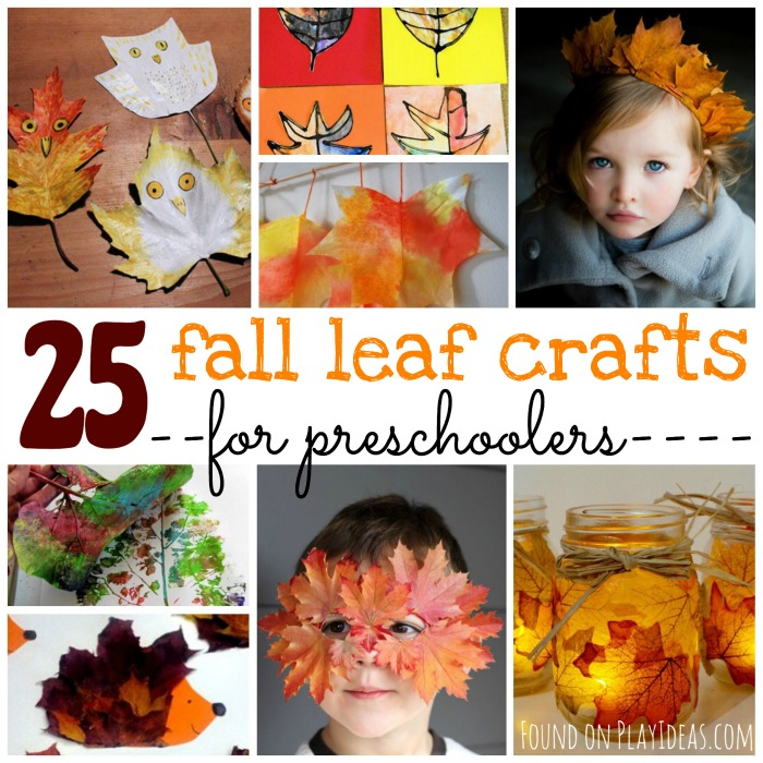 Fall Leaf Crafts for Prescholers Blog Image