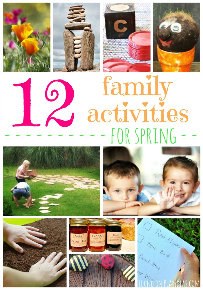 Family Activities for Spring Pinnable
