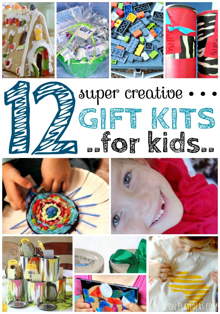 Gift Kits for Kids ideas for the whole family to make!