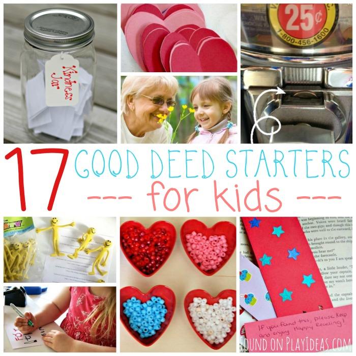 Good Deed Starters Blog Image