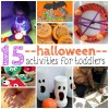 15 Halloween Activities For Toddlers