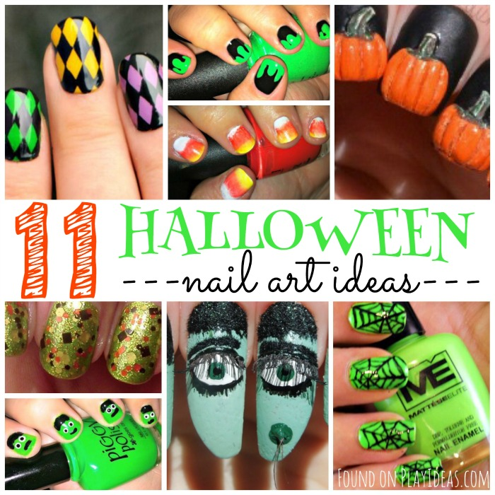 Halloween Nail Art Blog Image