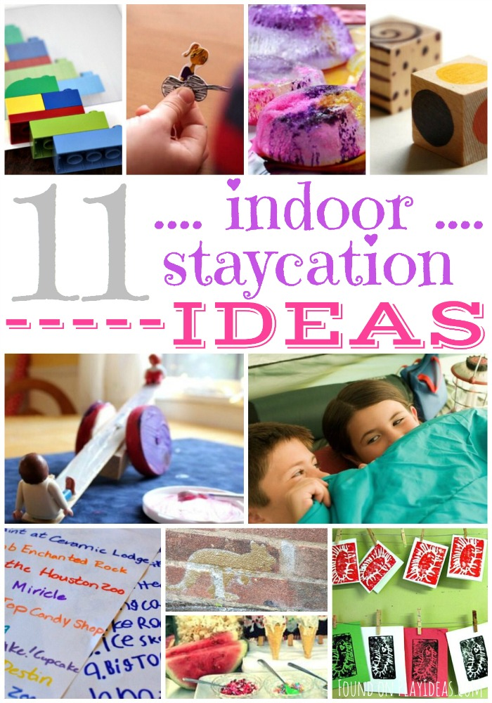 Indoor Staycation Ideas Pinnable