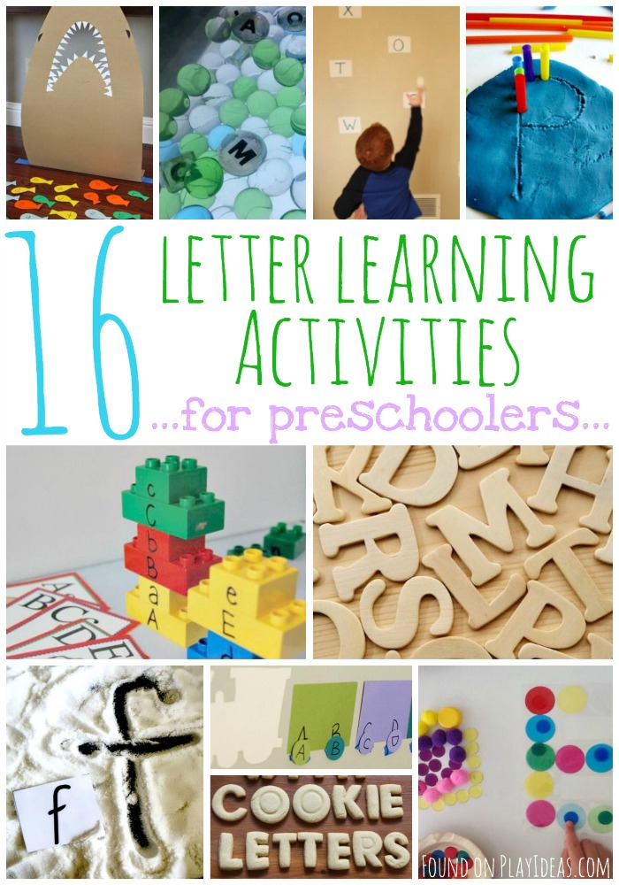 Letter Learning Pinnable